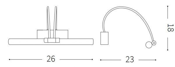 Bow wymiary krótki